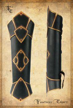 Fantasy leather quiver by ~I-TAVARON-I on deviantART