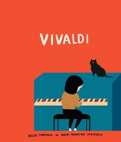 Cats in Art and Illustration: Norwegian illustrator Mari Kanstad Johnsen. This image is from the cover of a children's book. Creative Illustration, Children's Book Illustration, She And Her Cat, Art Graphique, Book Images, Cat Art, Kitsch, Illustrations Posters, Pantone