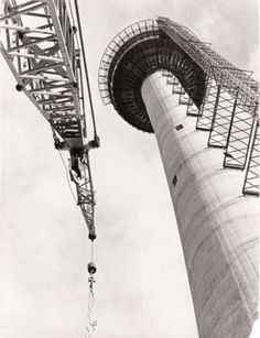 History of the Calgary Tower- the Calgary Tower started construction in 1967, officially opening to the public in 1968. Click the picture to read more!