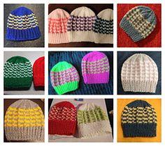 Ravelry: Duet Baby Hat pattern by marianna mel Baby Hat Knitting Patterns Free, Baby Hat Patterns, Baby Hats Knitting, Free Knitting, Knitted Hats, Free Pattern, Crochet Patterns, Preemie Babies, Knit Crochet