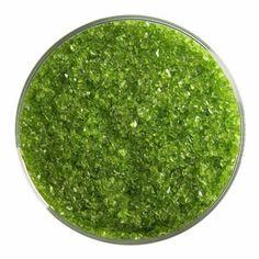 5 oz Spring Green Transparent Medium Frit - 90 COE