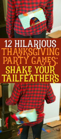 These 12 Thanksgiving games are not only funny, they're perfect for any age - . - Thanksgiving Recipes To Die For - Party Funny Party Games, Diy Party Games, Dinner Party Games, Outdoor Party Games, Outdoor Games For Kids, Adult Party Games, Games For Toddlers, Games For Teens, Ideas Party
