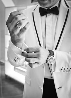 A dapper looking tuxedo! #tuxedo #fashion #suits #sharp