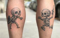 #clashofclans Clash Royale, Clash Of Clans, Skull, Recherche Google, Tattoos, Tattoo Art, Tatuajes, Tattoo, Tattos