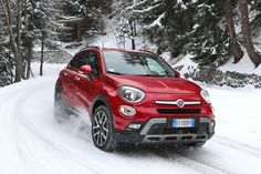 Fiat 500 X 4x4 Cross (2016) with 170hp. #fiat #crossover #cars2016