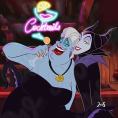 Disney Evil Queen, Disney Magic, Disney Art, Ursula Disney, Cute Disney, Disney Wallpaper, Cartoon Wallpaper, Maleficent Art, Modern Disney