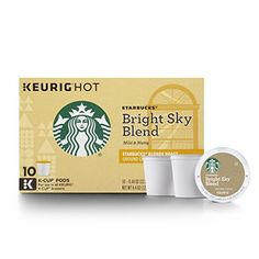 Starbucks Bright Sky Blend KCup for Keurig Brewers 60 Count * Click on the image for additional details. (This is an affiliate link and I receive a commission for the sales)