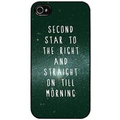 Neverland iPhone case...since I'm never going to grow up :)