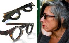 1980's French Round Snake/Tortoise Vintage Frames by BackThennishVintage,