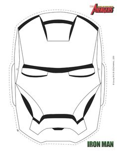 Iron Man Mask for Evan  @Susie Harty