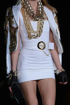 Dsquared² Spring 2013... Elegantly ratchet I love it