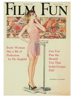 Cover of Film Fun (November 1923) by Enoch Bolles