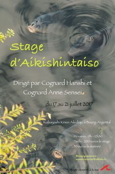 Aikishintaiso in Bourg-Argental - http://bit.ly/2pcmKyc