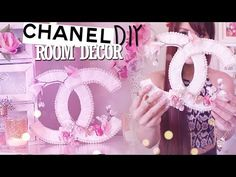 DIY Room Decor Chanel Logo {Spring/Summer} - YouTube