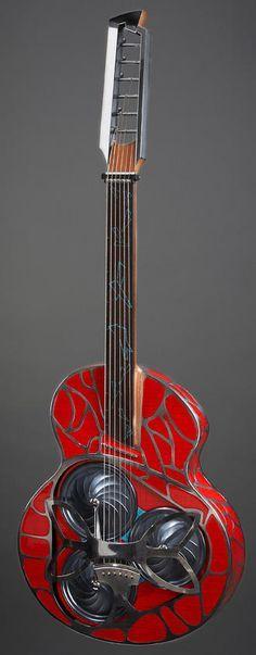 alquier luthier fabricant de guitares electriques et acoustiques   la Papaleocada