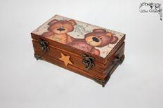 Exklusive Schatulle Box Schachteln wood für Schmuck von UltroViolet, €21.00