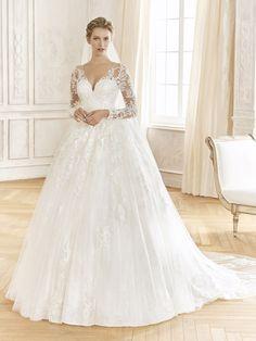 La Sposa Wedding Dresses, Princess Wedding Dresses, Bridal Dresses, Bridesmaid Dresses, Pronovias, House Dress, Bridal Boutique, Boho Chic, Marie