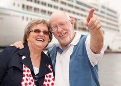 Kreuzfahrt-senior in Reisen mit dem Schiff - Faszination und Integration