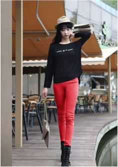 New Arrival Colorful Fashion Skinny thicken Legging on BuyTrends.com, only price $14.70
