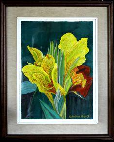 Iris, Paintings, Paint, Painting Art, Painting, Painted Canvas, Drawings, Grimm, Bearded Iris