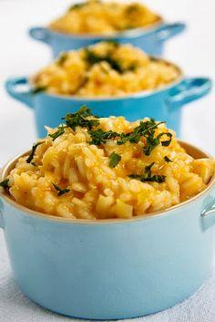cheesy leek risotto. #recipe #vegetarian