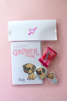 Grover Zine Pack A7 Zine 32mm Pin Sticker Candy by girliepains