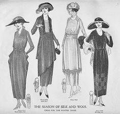 Edwardian and World War 1 Fashions