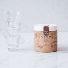 Gelato al caffè in barattolo - Grom Mugs, Tableware, Instagram, Originals, Dinnerware, Cups, Tumbler, Dishes, Mug