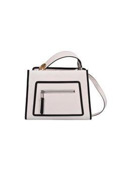 Fendi Runway Small Bag In Ice+nero+palladio Fendi Bags, Gym Bag, Runway, Ice, Handbags, Inspiration, Shopping, Shoes, Fashion