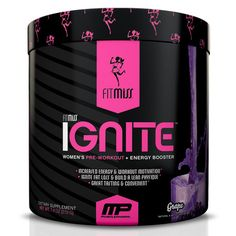The Best Women's Pre-Workout on the Market! Tastes great too!
