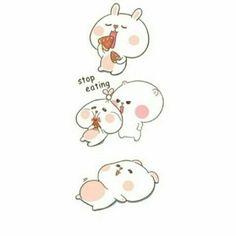 Cute Cartoon Images, Cartoon Pics, Cute Memes, Funny Memes, Bio Art, Kawaii, Couple Cartoon, Cute Birds, Cute Gif