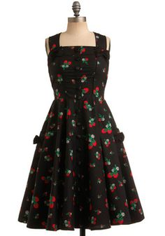 Sweet Temptation Dress in Strawberries, #ModCloth March 2012 [$89.99]
