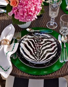 We've partnered with renowned American company Scalamandre to create exclusive dinnerware that's ideal for indoor or outdoor entertaining. The crisp black-and-white patterns effortlessly enhance a refined or relaxed tabletop. | Frontgate: Live Beautifully Outdoors