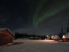 Camp alta, Kiruna, Sweden.