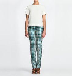 Printed Silk Pyjama Pant
