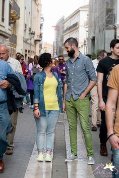 Adhara Bodas - Fotografía de Bodas www.adharabodas.com preboda / engagement / El Carmen / Valencia /  España / Spain / amor / love / couple / ciudad / city / solos en la ciudad / alone in the city
