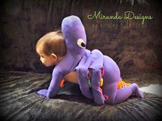 It's Hallowe'en, Baby! {Octopus costume}