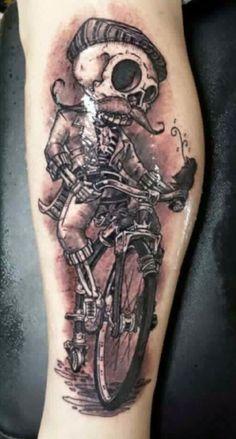 Skelett Bike