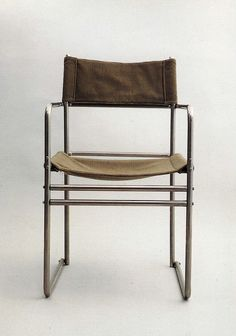 Chair designed by Marcel Breuer 1927. Photograph from the bauhaus archiv museum, Berlin.