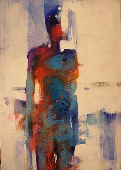 Painting, Human Figure, by Joanna Teciorowska , http://www.saatchiart.com/teciorowska