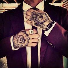 Hand Tattoos for men tatuajes | Spanish tatuajes |tatuajes para mujeres | tatuajes para hombres | diseños de tatuajes http://amzn.to/28PQlav