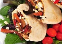 Chicken Souvlaki Pita % acid reflux recipes in detail Pita Recipes, Wrap Recipes, Greek Recipes, New Recipes, Favorite Recipes, Healthy Recipes, Chicken Souvlaki Pita Recipe, Turkey Recipes, Chicken Recipes