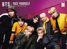 BTS' 3rd full Japanese album 'FACE YOURSELF' limited edition B album jacket photo! Release: 4th of April~ ❤️ #BTS #방탄소년단