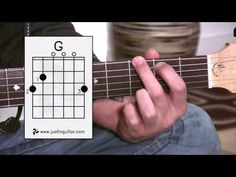 ▶ The G Chord (Guitar Lesson BC-131) Guitar for beginners Stage 3 - YouTube