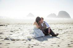 Beach wedding by DRB PHOTOGRAPHY