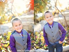 The most adorable cousins you have ever seen. Awesome photoshoot secretly planned to have a print framed and gifted for the grandma of the bunch. Their wardrobe was so perfect with awesome purples and blues. Check it out. :)   www.loriromneyphotography.com | Lori Romney Photography
