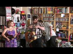 One of my favorite bands. Definitely worth seeing live.  By the end of the show it becomes a sing a long. The Decemberists: NPR Music Tiny Desk Concert