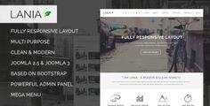 Lania - Templaza Joomla Template » THEMELOCK.COM