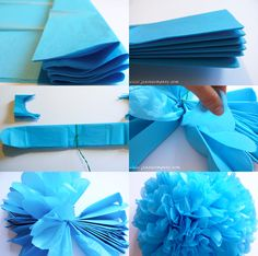 Kylie Baby Shower, Deco Baby Shower, Boy Baby Shower Themes, Baby Boy Shower, Fiesta Party Decorations, Birthday Decorations, Baby Shower Decorations, Tulle Crafts, Paper Crafts