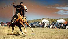 Destrezas Criollas: The national sport of Uruguay ( Image: Ashabahia )
